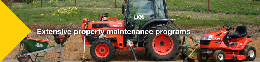 LKX Tractor - Property maintenance
