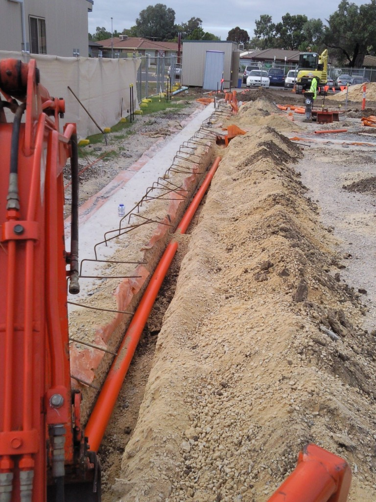 Trenching Lkx Excavation Excavation Adelaide Sa
