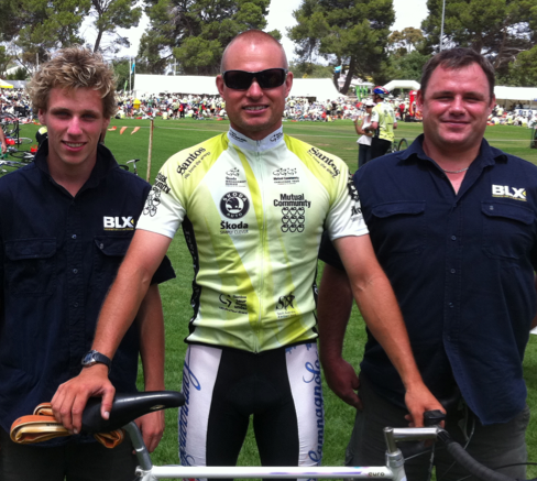 BLX at the 2011 Tour Down Under