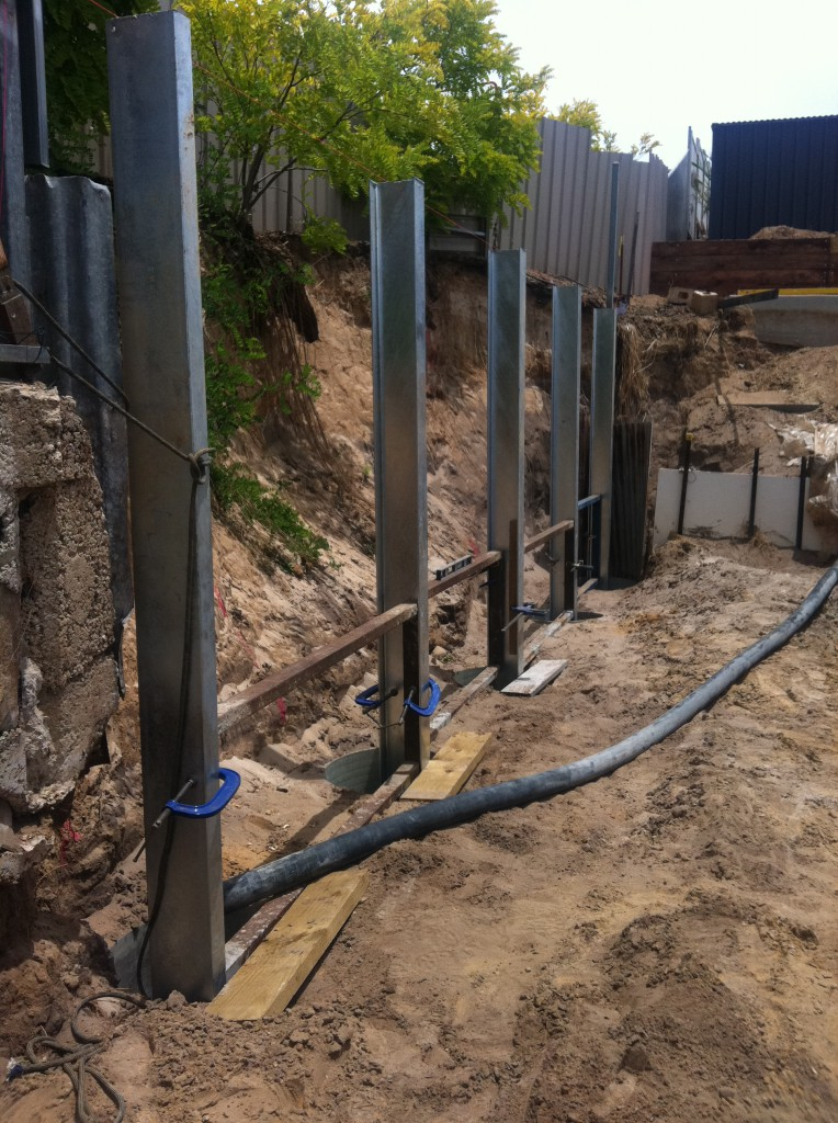 Retaining walls lkx excavation excavation adelaide sa for Retaining walls adelaide
